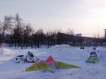 Снежных фигуры