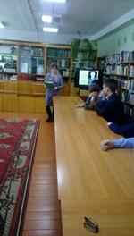 Учащиеся 9б на мероприятии